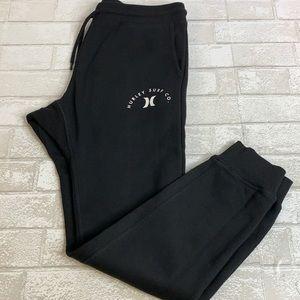 Hurley Slim Fit Jogger Pants, Black